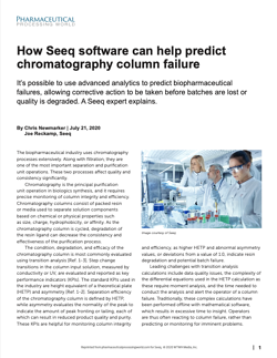 How Seeq software can help predict chromatography column failure
