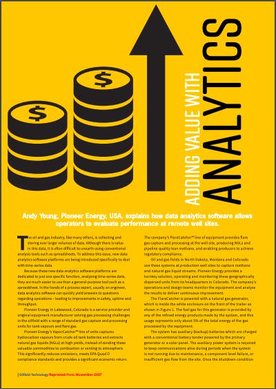 Adding Value with Analytics